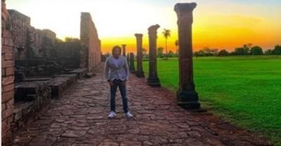 Mario Cimarro Visitó Las Ruinas Jesuíticas