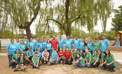HOY / Con música, más de 500 jóvenes de Ñemby se unieron para cuidar el agua
