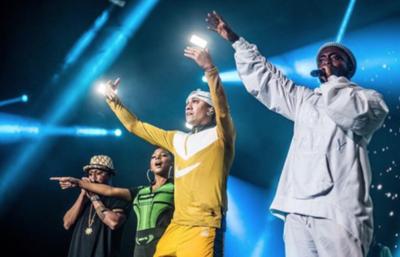 HOY / Black Eyed Peas enciende Rock In Río, como previa a su show en Paraguay