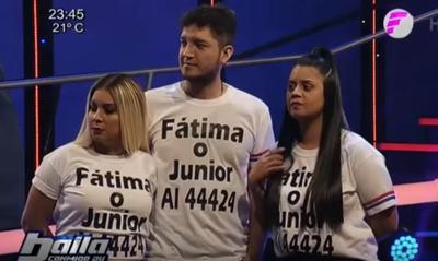 """Junior y Fátima eliminado de """"Baila Conmigo Paraguay"""""""