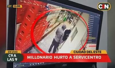 Delincuentes se llevan millones luego de asaltar surtidor