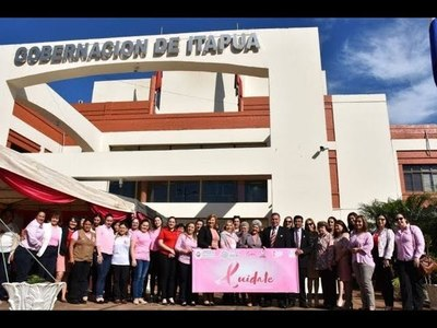 PRESENTAN PROGRAMA ''ESPERANZA ROSA EN ITAPÚA''