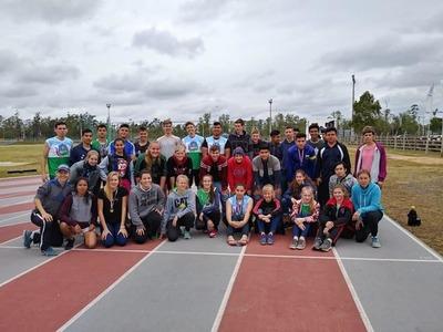 Boquerón consigue 48 medallas en Torneo Nacional de Atletismo