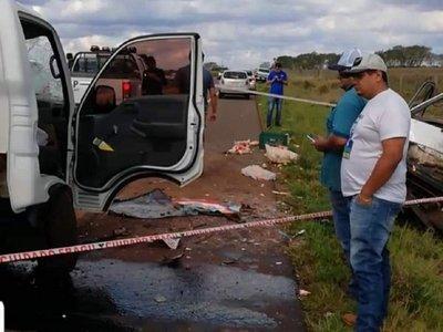 Accidente de tránsito deja dos fallecidos en Corpus Christi