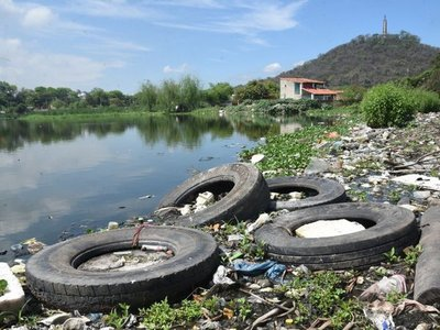 Polucionada laguna Cateura será  corredor verde