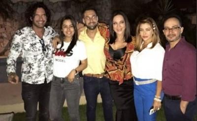 La fiesta que disfrutó el plantel del Baila Conmigo Paraguay