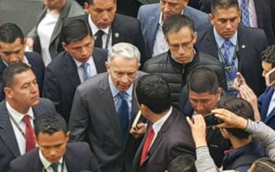 Expresidente de Colombia declara ante la Justicia