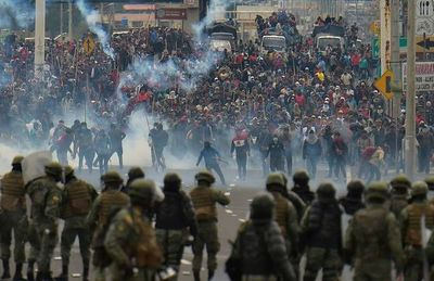 Los indígenas toman Quito y ponen en jaque al gobierno de Moreno