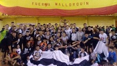 Itacurubí celebró como campeón del Nacional de hándbol Sub 19
