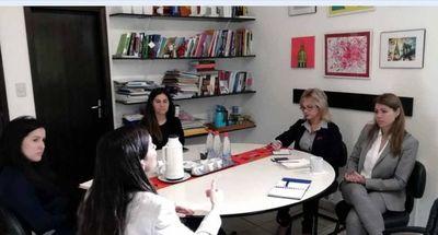 Reunión sobre perspectiva de cooperación interinstitucional