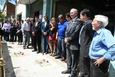 """""""Baldosas de la Memoria"""" para honrar a desaparecidos"""