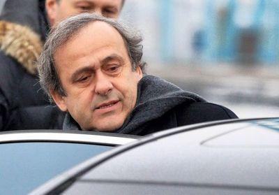 Platini cumple sus cuatros año de sanción