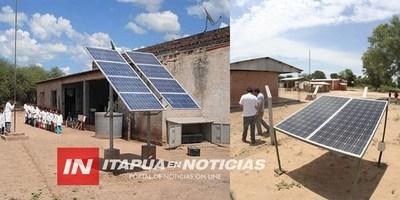 COLOCARÁN PANELES SOLARES EN COMUNIDADES INDÍGENAS DE ITAPÚA