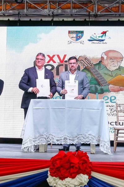 SNC y Gobernación de Caaguazú firman convenio para el fortalecimiento de las actividades culturales
