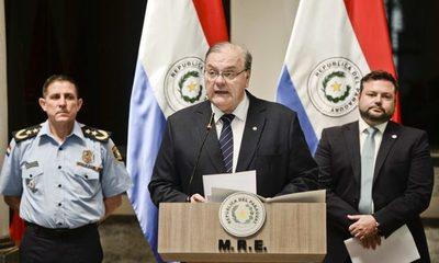 Paraguay condena facilidades otorgadas a prófugos por parte de Uruguay