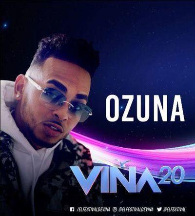 Ozuna participará por primera vez en el festival de Viña de Mar