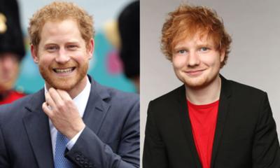 """Ed Sheeran y el Príncipe Harry se unen para una causa especial por el """"Día de la Salud Mental"""""""