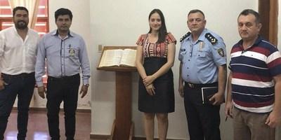DIRECTOR DE POLICÍA SE REUNIÓ CON MIEMBROS DEL CONSEJO ASESOR POLICIAL DE CNEL. BOGADO