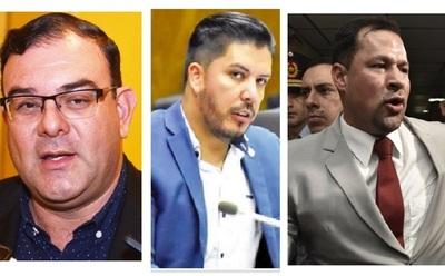 Diputados salvan a Portillo, Rivas y Quintana de pérdida de investidura