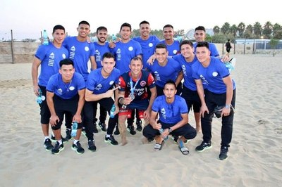 Selecciones de fútbol playa se alistan para Juegos Mundiales en Doha