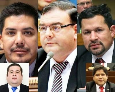 Rojas y Urbieta colaboran con permanencia de Diputados Portillo, Rivas y Quintana