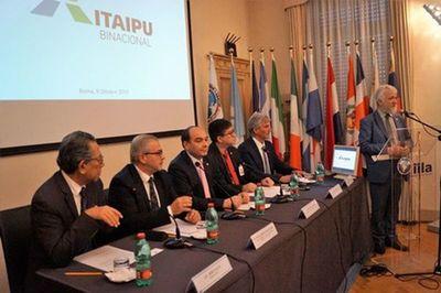 Presentan en Italia novedoso proyecto ambientalista de Itaipu