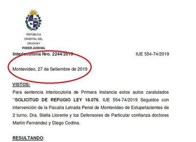 Caso Arrom: Fallo data del 27 de septiembre; Uruguay ignoró a Corte IDH