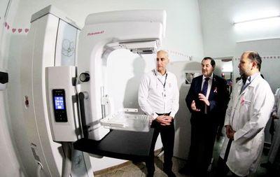 Hospital de Barrio Obrero ya cuenta con mamógrafo