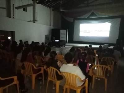 Cine nacional llega a ciudades del interior del país
