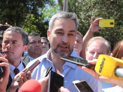 Mario Abdo asegura estar orgulloso de la gestión del ministro del Interior