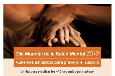 Día mundial de la Salud Mental: Apunta a la prevención del suicidio