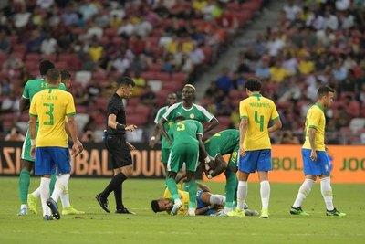 Brasil no pasa de un pálido empate con Senegal