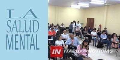 JORNADA DE SALUD MENTAL SE DESARROLLÓ EN ENCARNACIÓN