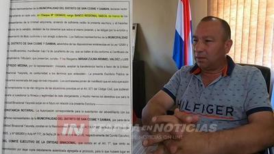 SAN COSME: INVESTIGAN DESTINO DE MILLONARIO DESEMBOLSO DE LA EBY