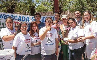 Organizan maratón benéfica solidaria en Emboscada