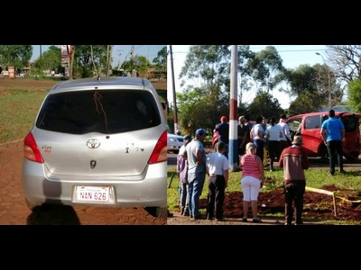 POLICIA EN GRAVE ESTADO TRAS ACCIDENTE EN HOHENAU