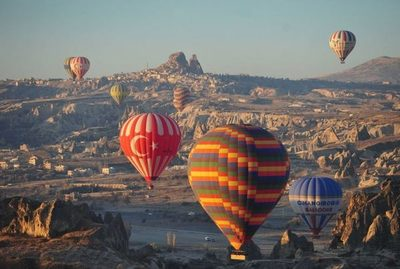 Empresario turco proyecta impulsar turismo en globo aerostático en Paraguay