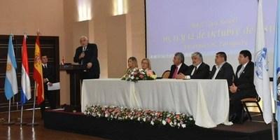 APERTURA DEL XIX CONGRESO NOTARIAL PARAGUAYO EN ITAPÚA