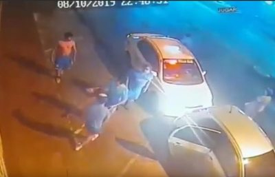 Villa Elisa: Taxistas que agredieron a conductor de Uber se exponen a dos años de cárcel o multa, según Fiscalía