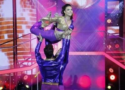 Tras su lesión, Paloma volvió a la pista del Baila