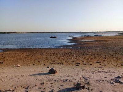 Nivel del río Paraguay descendió vertiginosamente