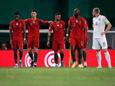 Cristiano, Guedes y Bernardo Silva acercan a Portugal a su meta