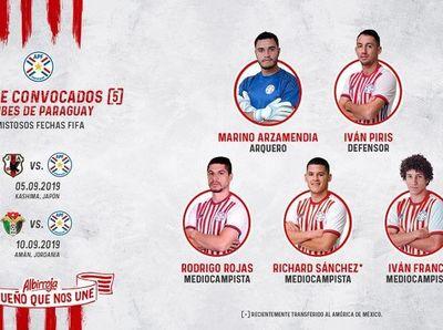 5 futbolistas del plano local  convocados por Berizzo para la selección nacional