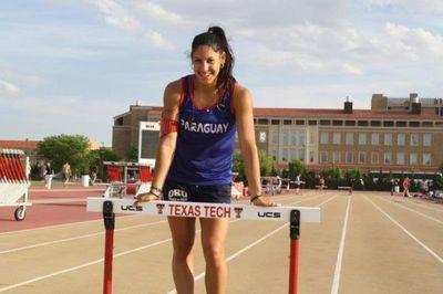 Camila Pirelli presente en el Sudamericano de Atletismo