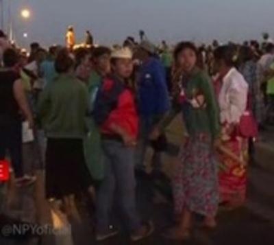 Hartazgo: Caos aumenta, tras horas de manifestación en Puente Remanso