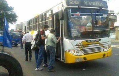 Cetrapam confirma paro de buses para el viernes