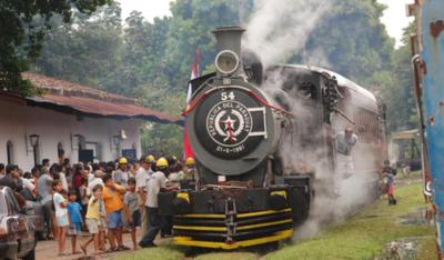 El tren Inglés iniciará sus recorridos hasta Ypacaraí