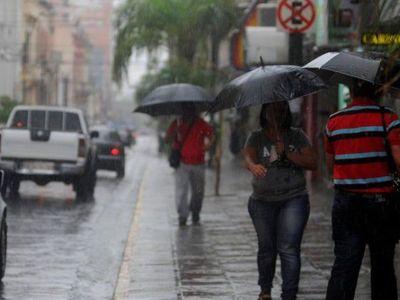 Alertan fenómenos de fuerte lluvias para este sábado