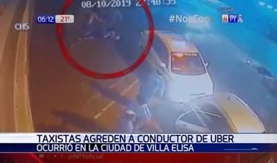 Imputan a tres taxistas por agresión a conductor de Uber