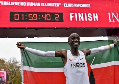 Completó la maratón en menos de dos horas